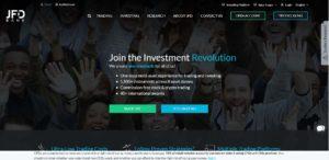 JFD Bank ukázka webu