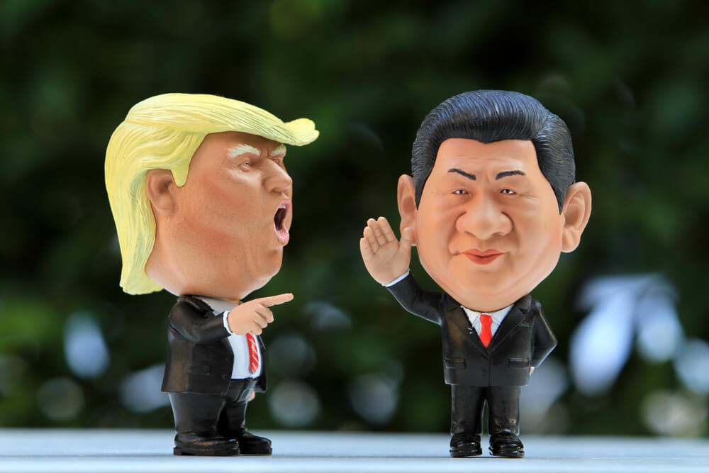 Trump vs. Čína